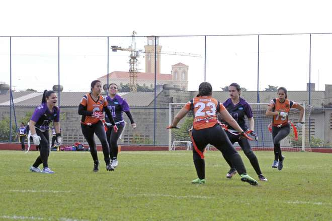 Futebol Americano: Time feminino do Vipers estreia no Paulista de Flag Football 5 x 5.